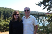 Jan and Phil at Deception Pass