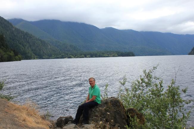 Phil at Lake Crescent