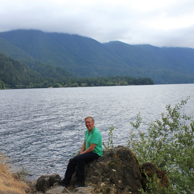 Phil at Lake Crescent