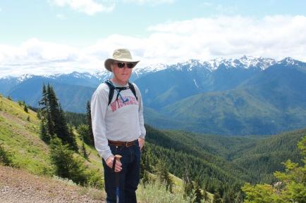 Phil on Hurricane Hill trail