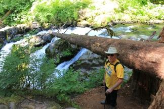 Phil at Sol Duc Falls