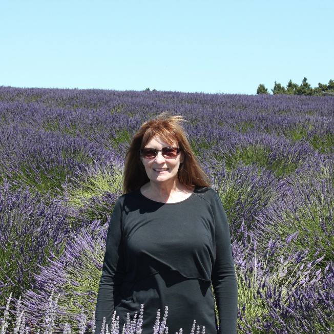 Jan in Lavender field