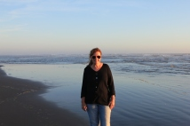 Jan on Copalis Beach