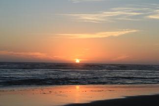 Sunset at Copalis Beach