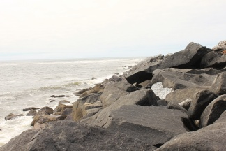 View up North Jetty