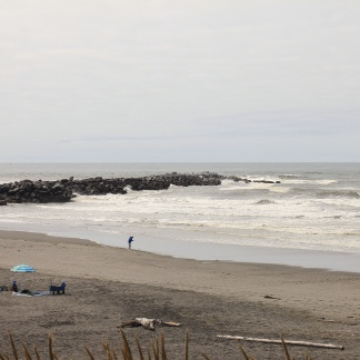 View of the end of North Jetty