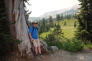 Phil on Frozen Lake Trail