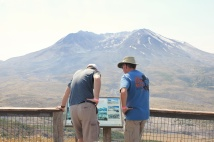 Phil and Jason on Eruption Trail