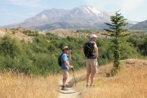 Phil and Jason on Hummocks Trail