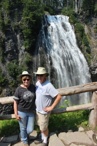 Phil and Jan at Narada Falls