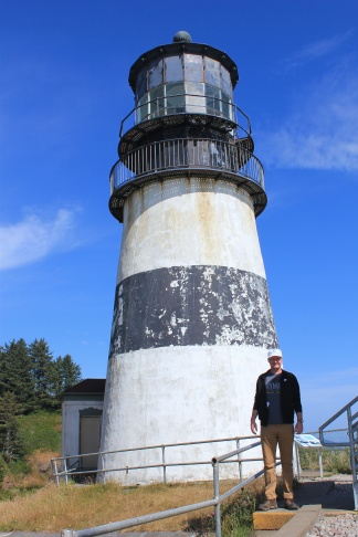 Jason at Cape Disappointment Lighthouse