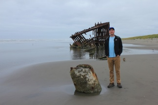 Jason by Peter Iredale wreckage