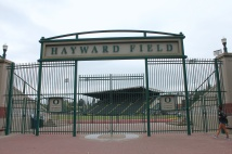 Gates to Hayward Field