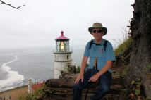 Phil by Heceta Head Lighthouse
