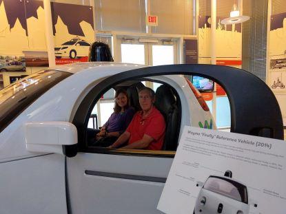 2014 Waymo Driverless Car Prototype