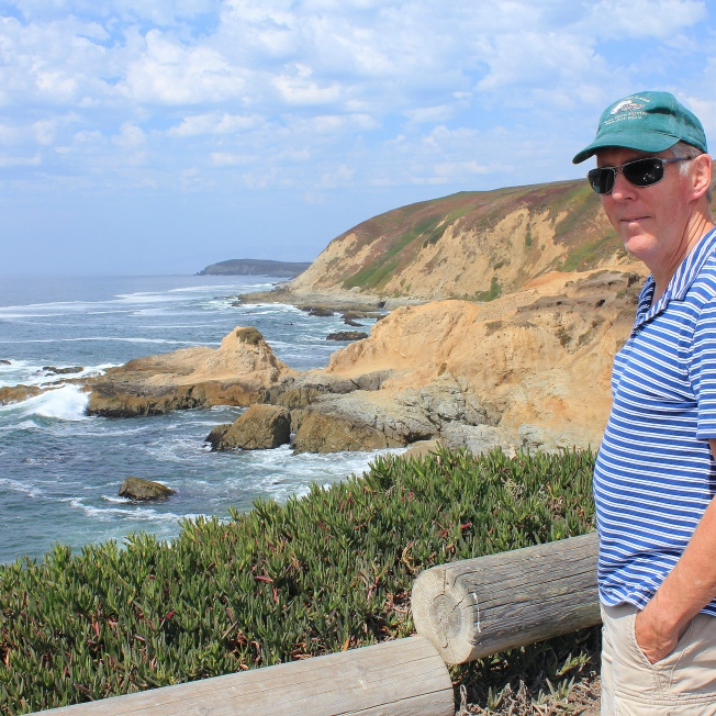 Phil at Bodega Head overlook