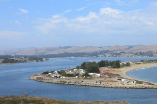 Channel into Bodega Bay