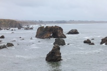 Arched Rock from Carmet Beach