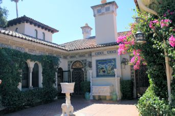 One of three guest houses