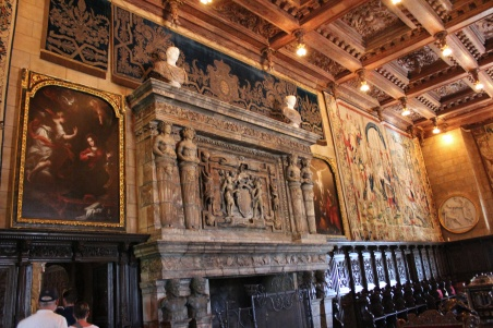 Fireplace in the Assembly Room