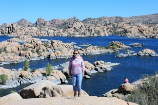 Jan by Watson Lake