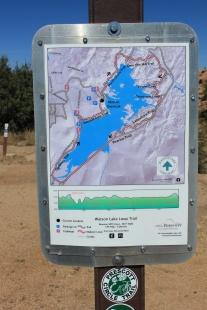 Watson Lake Loop trailmap