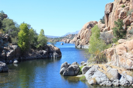 View of Watson Lake