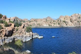 View of Watson Lake Dam