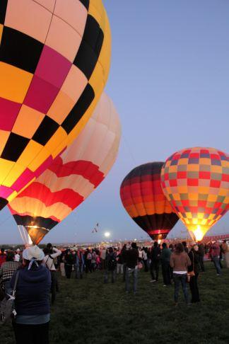 Dawn Patrol balloons