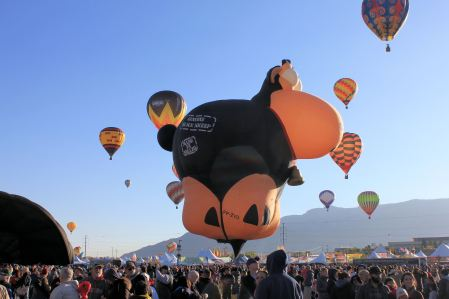 Black Sheep balloon