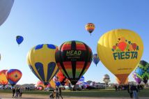 Fiesta and other balloon