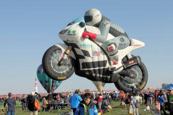 Motorcycle balloon