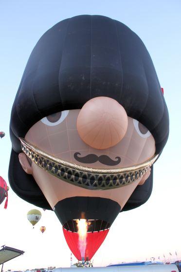 British bobbie balloon