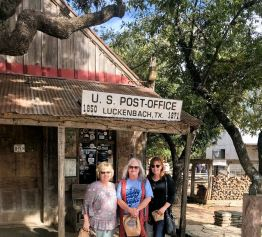 Post office at Luckenbach, TX
