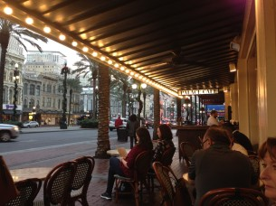 View of Canal Street from Palace Cafe