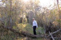 Phil on Cypress Island Preserve trail