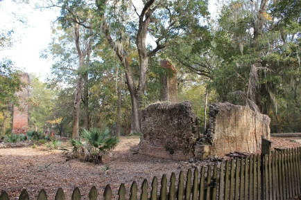 Ruins of Fontainebleau Plantation Sugar Mill
