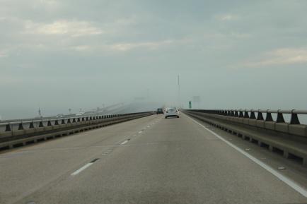 Section of Lake Pontchartrain Causeway