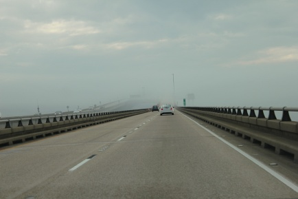 Section of Lake Pontchartrain Causeway