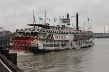 Nachez paddleboat on Mississippi River