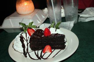 Jan's birthday cake