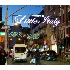 Strolling through Little Italy