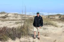 Phil in dunes