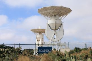 SpaceX Ground Tracking Station