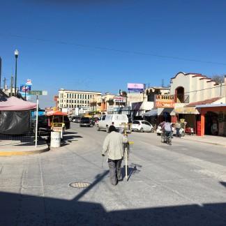 Nuevo Progreso's main street