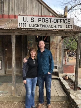 jan and Jason at Luckenbah, TX