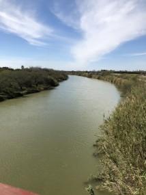 Crossing the Rio Grande River