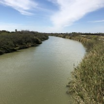 Crossing the Rio Grande River