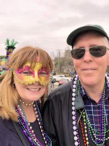 Phil and Jan at parade