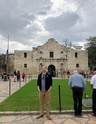 Jason at The Alamo